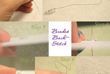 DIY BEADING STITCH INSTUCTIONS / by Misty Farnsworth Hall