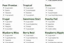 Healthy drinks / by Rebecca Sheats