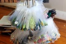 CRAFT SUPPLY-ORGANIZATION / My paper crafts & yarn crafts / by Susan Bertucci