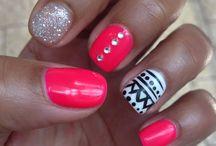 Nails. / by Michaela Bessinger