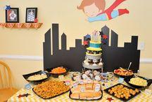 Superhero party / by Audrey Metcalf