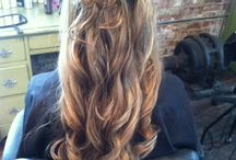 hair for sisters wedding / by Nichole Kenney