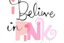 I LOVE pink! / Pink is always in.... / by Candice Batista