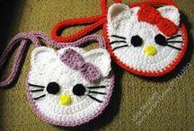crochet purses/bags / by Robin Hill