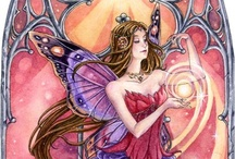 The Art of Meredith Dillman / Fantasy fairy art, and products by watercolor artist Meredith Dillman. http://www.meredithdillman.com/ / by Meredith D