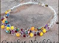 Crochet necklaces / by Lynne Howard
