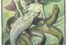 Yemaya and Mermaids / by Oneka Samet