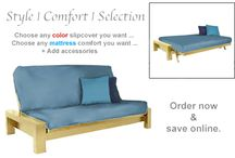 Maple Finish Furniture / by The Futon Shop Organic Futons & Mattresses