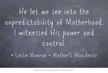 Mother's Manifesto / by Be Simply Better