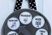 Classroom Decor and More / ideas for classroom decorations and arrangements / by Jodi Ayers Cross
