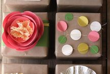 Gift wrapping ideas! / by Sharon G