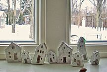 Little houses / by Susan Ziegler Hutsko