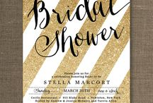 Bridal shower <3 ideas / by Aizlynn Petluk