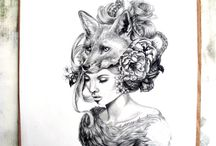 Fox Tattoo Ideas / by Jenna F.ox