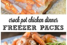 A Spotlight - Freezer Meals / by CookingwithK | Southern Kitchen