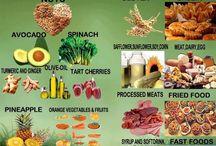 Anti inflammatory foods, info / by Karen Furr