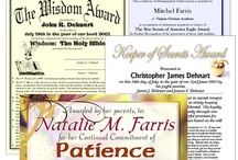 Certificates  / by The Old Schoolhouse Magazine