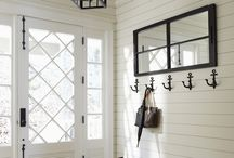 Entryway Decor Ideas / The entry to your house is where all those first impressions begin. Adding a few choice personal touches is essential for establishing and anchoring those first impressions. Cool nautically inclined entryway decor ideas for inspiration. / by Nantucket Brand Clothing Co