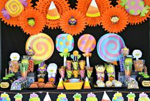 Friendly Halloween Bash Ideas / Throw the perfect kid-friendly bash this Halloween with inspiration from Crissy's Crafts and Oriental Trading. Find all of the fun and fresh Halloween decorations, candy, and games you see here:  http://bit.ly/GQLLZj / by Oriental Trading Company