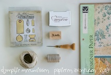 on my worktable / by Dymphie