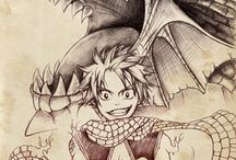 Fairy tail / This is my 2nd Favorite anime  !!!!!!!!<3 <3 / by Becca Steingraber