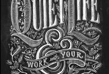 Typography & Lettering / by Elli