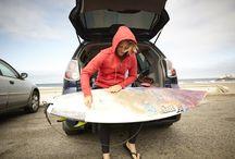 It Ain't Pretty / Big wave surfers at Ocean Beach, SF, CA / by American Giant
