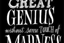 Typographic Quotes // Citas Tipográficas  / by Christophirer Freelancer