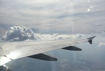 Views from the sky... / Views from above whilst we are on tour. / by Amiena A