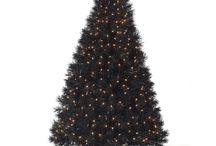 Not-so-basic BLACK / Charcoal. Midnight. Black Christmas Trees. Black Christmas decor. Why not? Once you go black... / by Treetopia Artificial Christmas Trees