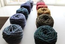 Yarn and textiles / by Ana Amezcua