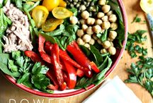 Super Salads / Some of the most amazing nutrient packed superfood salads I can find! / by Suzanne Bowen Fitness