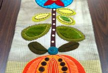 table runners / by Pam Taylor