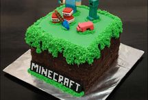Minecraft party / by Jessica Cook