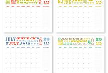 Crafts_Papel_Calendarios / by GMC 75