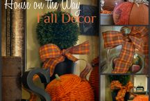 Autumn / Fall: Home Decor / by Christy Rooney (MileAMinuteMama.com)