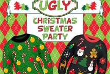 Christmas Ugly Sweater Party / Ugly Sweater Parties / by MakingArtMatters