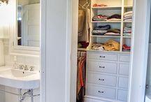 Bedroom & Closet / Master bedroom and walk-in closet / by Andrea VanderStel Snyder