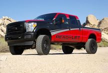 Ford / A household name in the automotive and truck world and even more so in the performance realm. These Fords take performance to a whole new extreme. / by ReadyLIFT Suspension