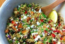 Food: Crazy for Quinoa!  / All things quinoa! / by Heidi Someoneorother