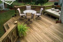 decks / by Cathy Clements Mergenthal