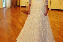 Bridesmaid/flower girl/bride dresses / by Victoria Merz