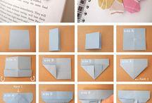 origami paso a paso / by Jenny