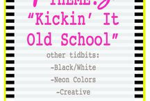 Kickin' It Old School Party / by Kiki Comin {www.kikicomin.com}