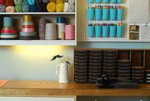 craft room / by Christi Morris