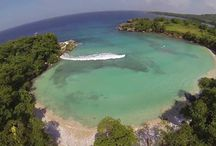 Boston Bay Beach / We love Boston Bay Beach in Port Antonio, Jamaica... It is an amazing place to spend time: swim, surf, relax, snorkel and just enjoy the beauty of Jamaica! Well, see for yourself! :) / by Great Huts