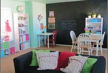 Decor: School/Play Room / by Christy Meyer
