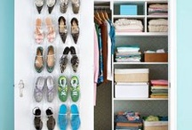 An Organized Home Is A Happy Home / Ideas for storage in a small home and keeping the house tidy.  / by Sarah Ginder
