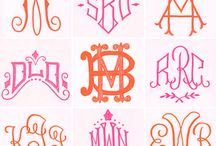 Monogram Love. / by Adria Brooke