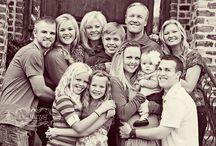 Large Family Photo Shoot Ideas / Family photos / by Kim House